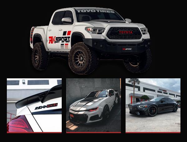 RK Sport and RENNtech enhanced performance vehicles